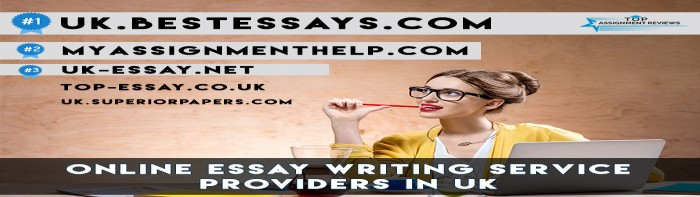 Top 5 Online Essay Writing Service Providers in UK